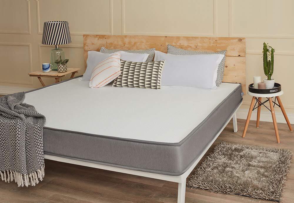 Wakefit Dual Comfort Mattress Hard, Wakefit Orthopaedic Memory Foam Mattress Queen Bed Size
