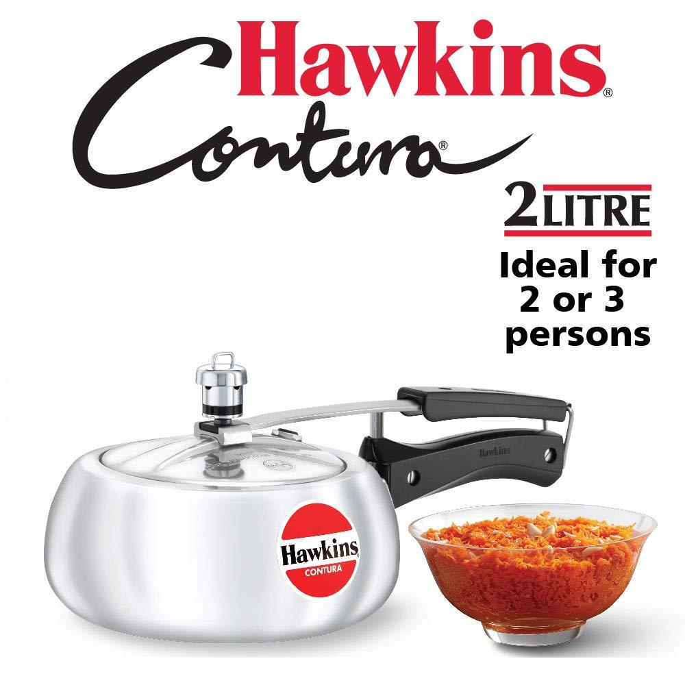 Hawkins Contura Pressure Cooker, 2 Litres