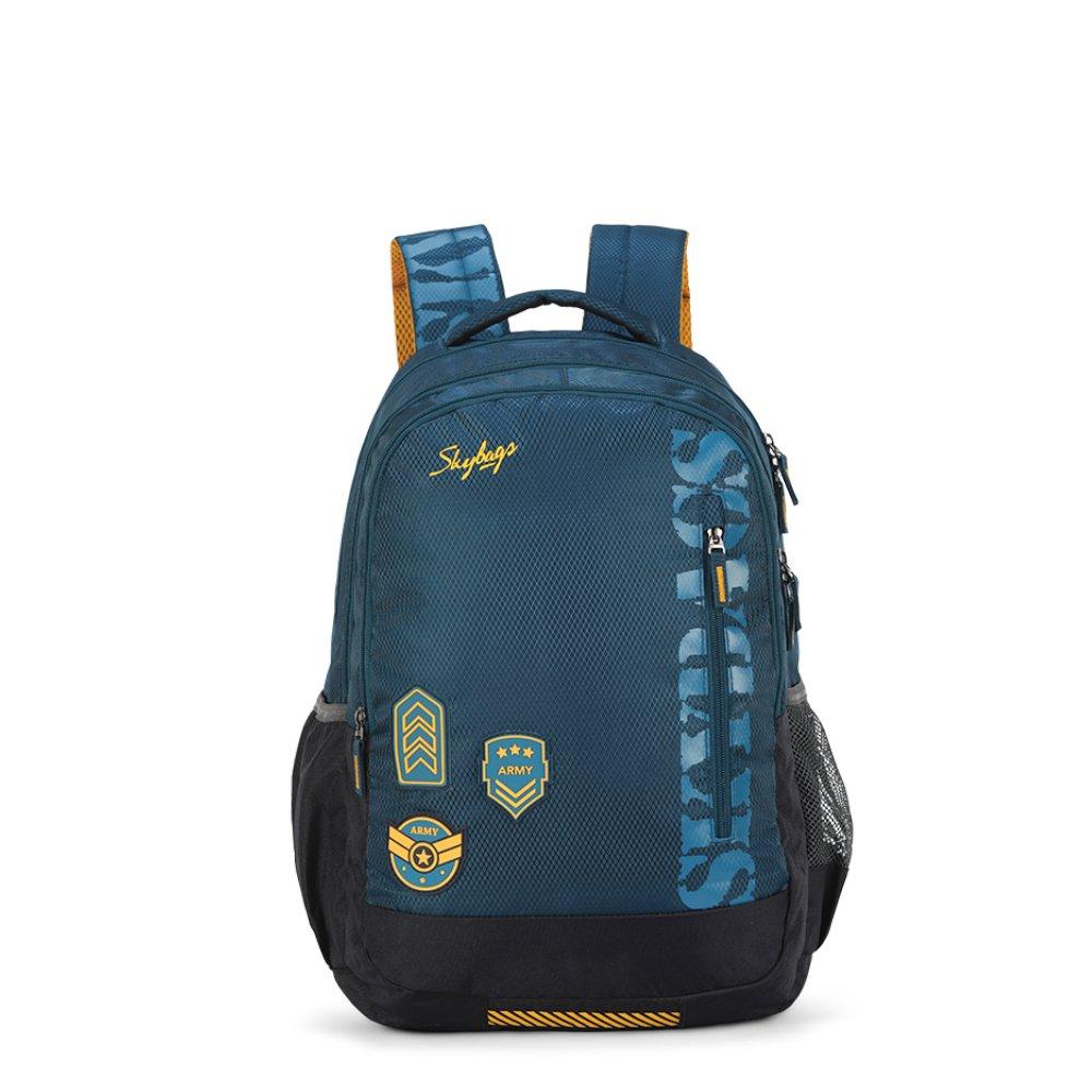 Skybags Bingo Extra 01 48 cms Dark Blue Casual Backpack (Bingo Extra 01)