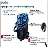 Bosch Wet/Dry Plastic 25 L Vaccum Cleaner (Blue)
