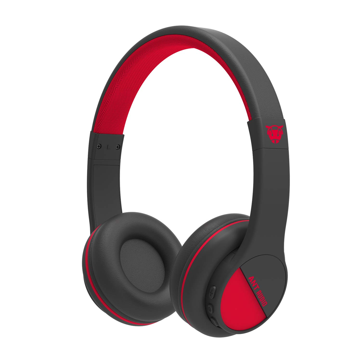 Ant Audio Treble 500 On Ear Hd Bluetooth Headphones With Mic Black And Red Buy Online In Bahamas Visit The Ant Audio Store Products In Bahamas See Prices Reviews