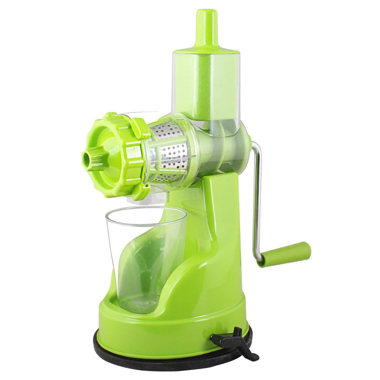 Qualimate Hand Juicer with Steel Handle Vacuum Locking System
