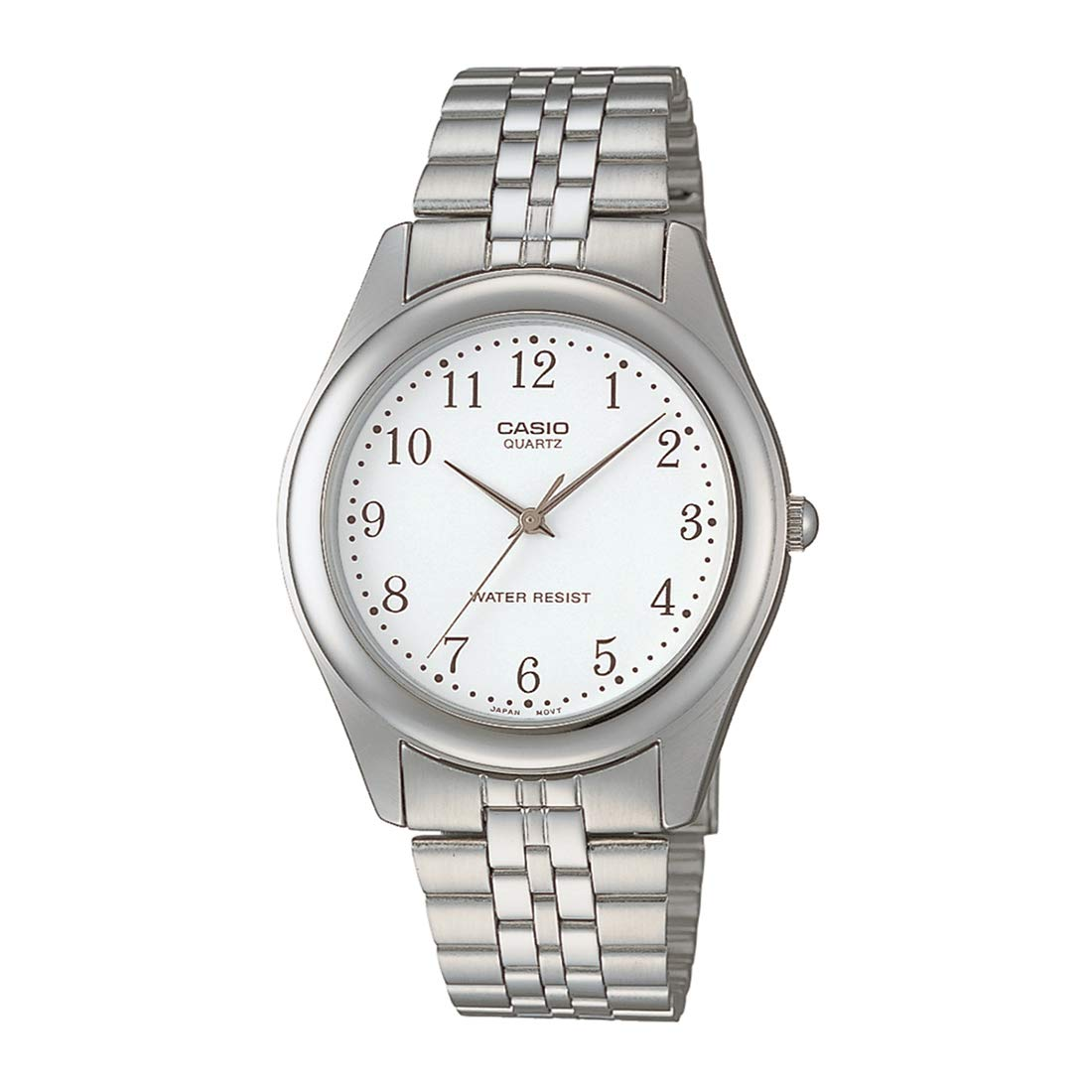 Casio Others Analog White Dial Unisex Watch - MTP-1129A-7B (A407)