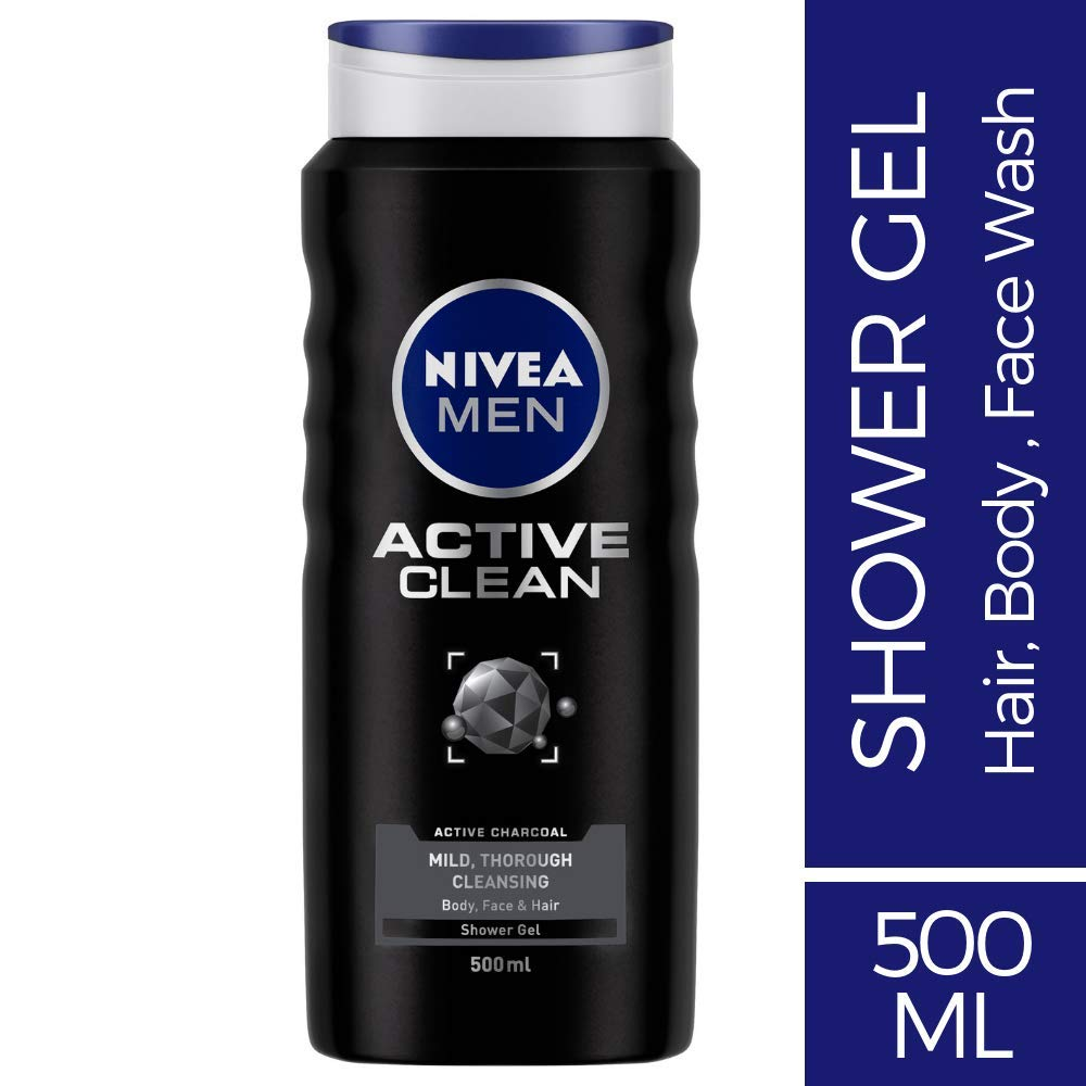 [Pantry] NIVEA Men Active Clean Shower Gel, 500ml