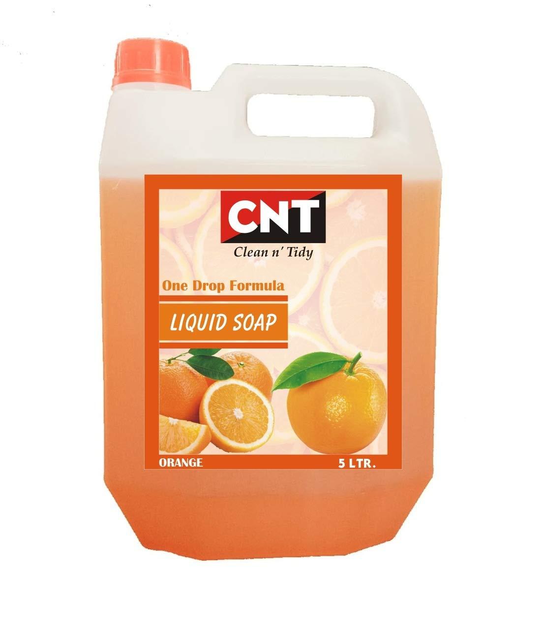 CNT One Drop Formula Fast action Liquid Soap Orange Flavor 5 Liter