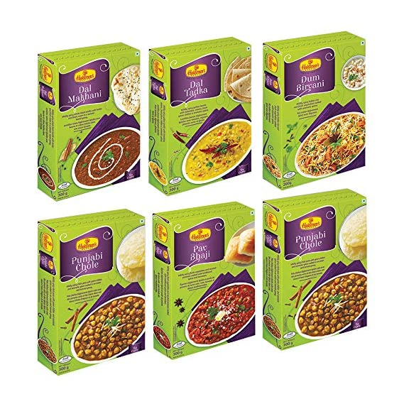 Haldiram's Nagpur Ready to Eats (Combo Pack)