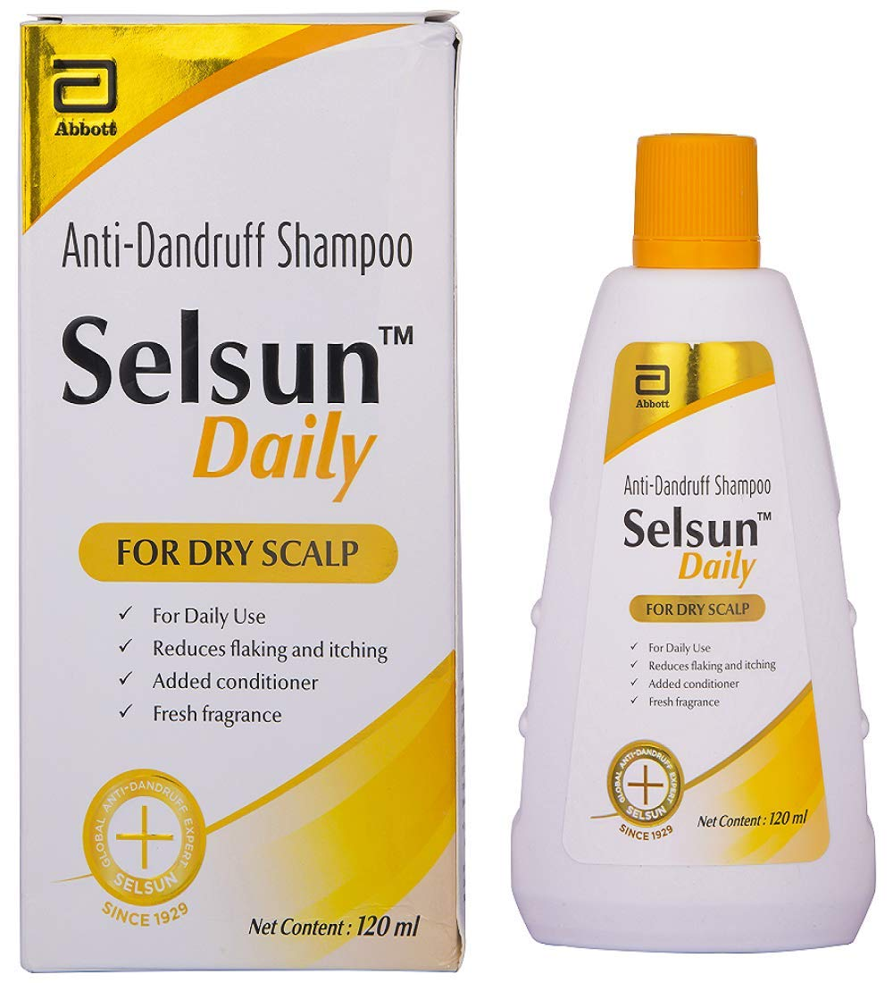 Selsun Daily Anti-Dandruff Shampoo for Dry Scalp 120 ml