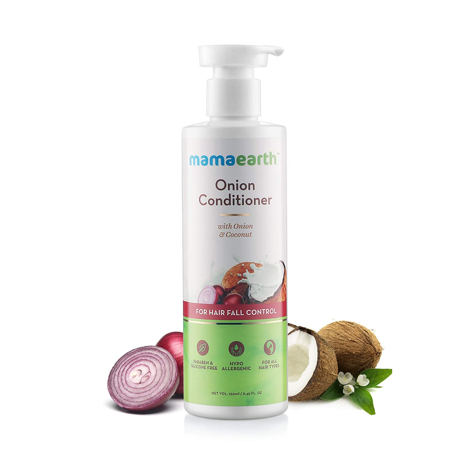Mamaearth Onion Conditioner for Hair Growth & Hair Fall Control