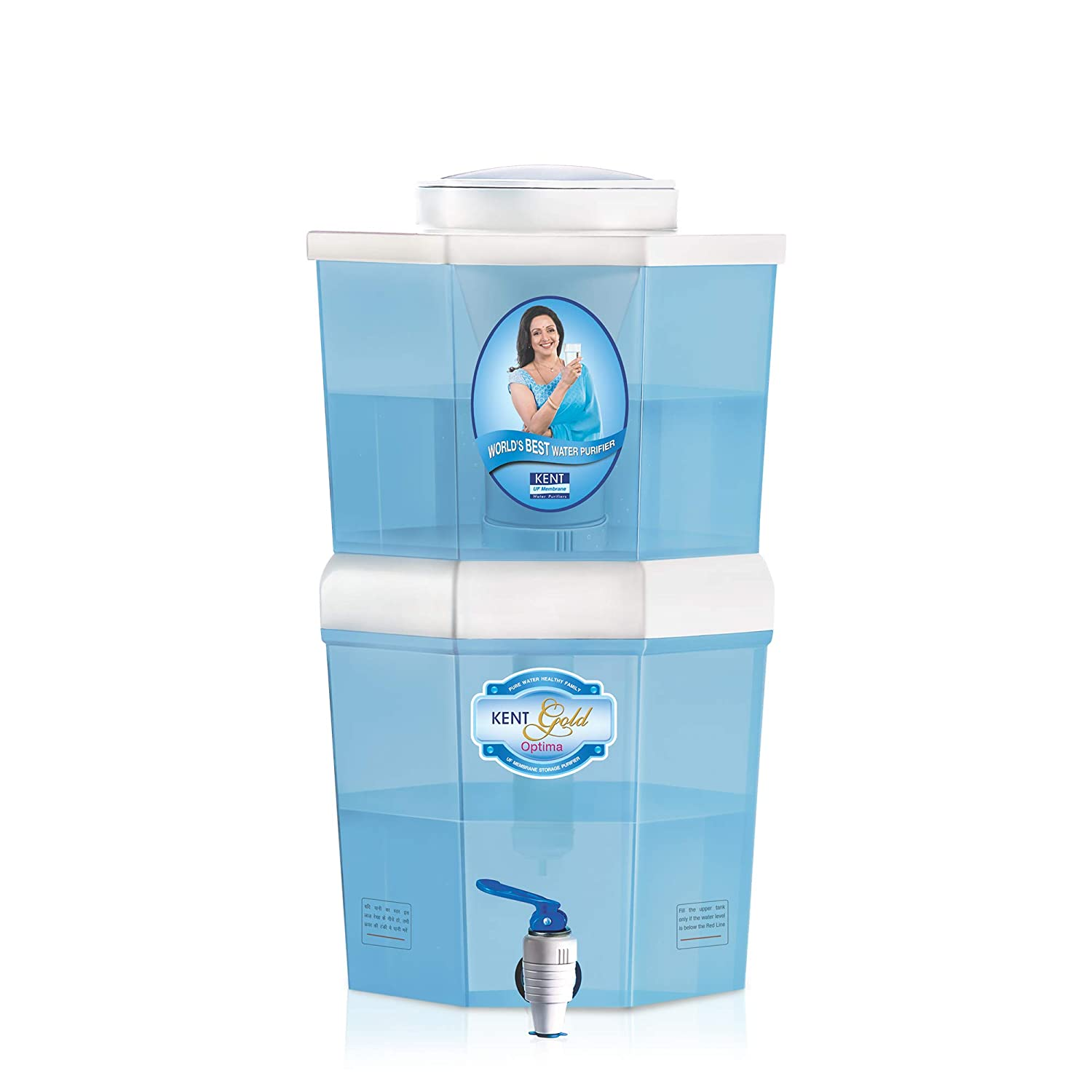 KENT Gold Optima 10-Liter Gravity Based Non-electric Water Purifier