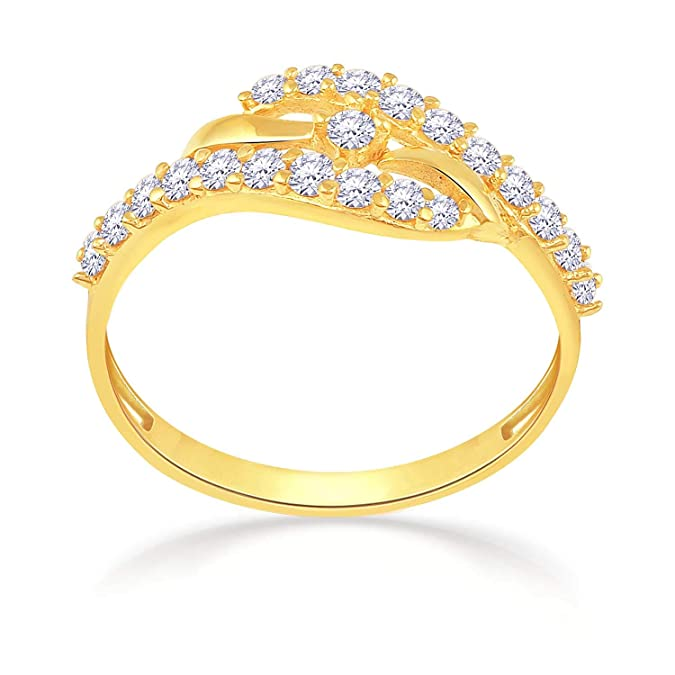 Malabar Gold  amp; Diamonds 22KT Yellow Gold Ring for Women Rings