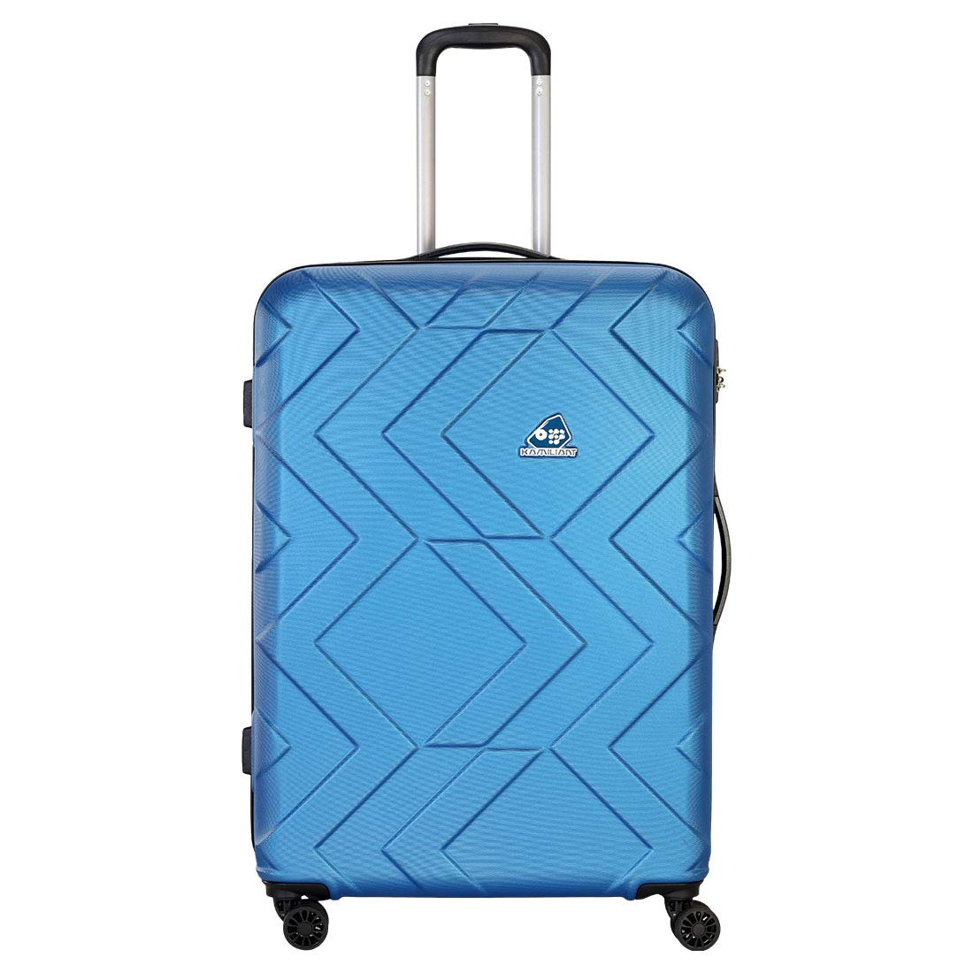 Kamiliant by American Tourister Kam Ohana ABS 33 cms Blue Hardsided Check-in Luggage (KAM Ohana SP 78CM - H Blue)