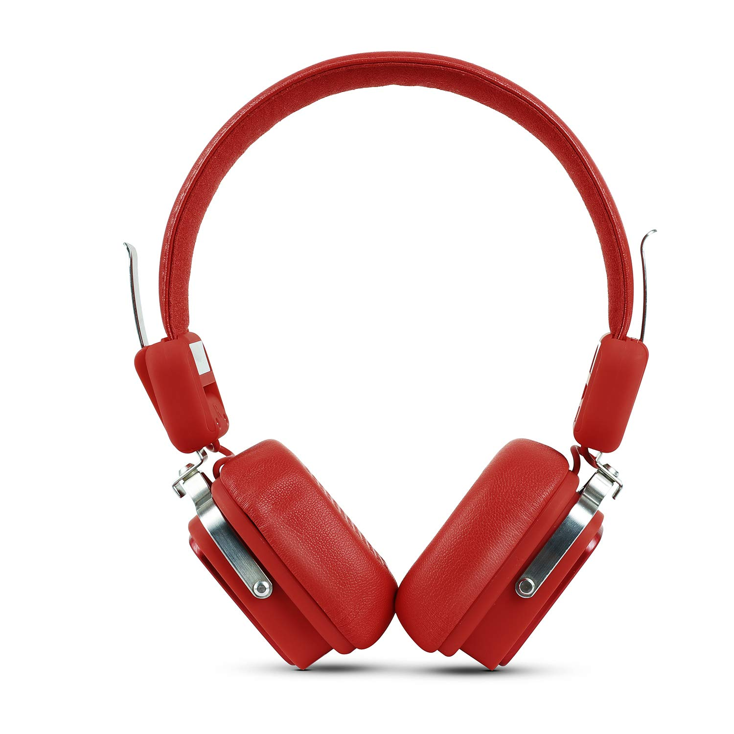 boAt Rockerz 600 Kings XI Punjab Edition Bluetooth Headphone with Luxurious Sound, Plush Earcushions, Foldable Ergonomic Design and Up to 8H Playtime (Red)
