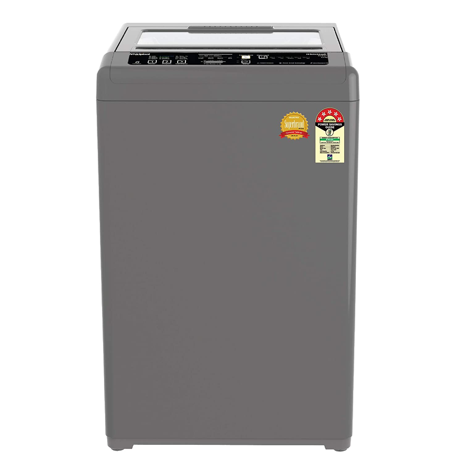Whirlpool 6.5 kg 5 Star Fully-Automatic Top Loading Washing Machine