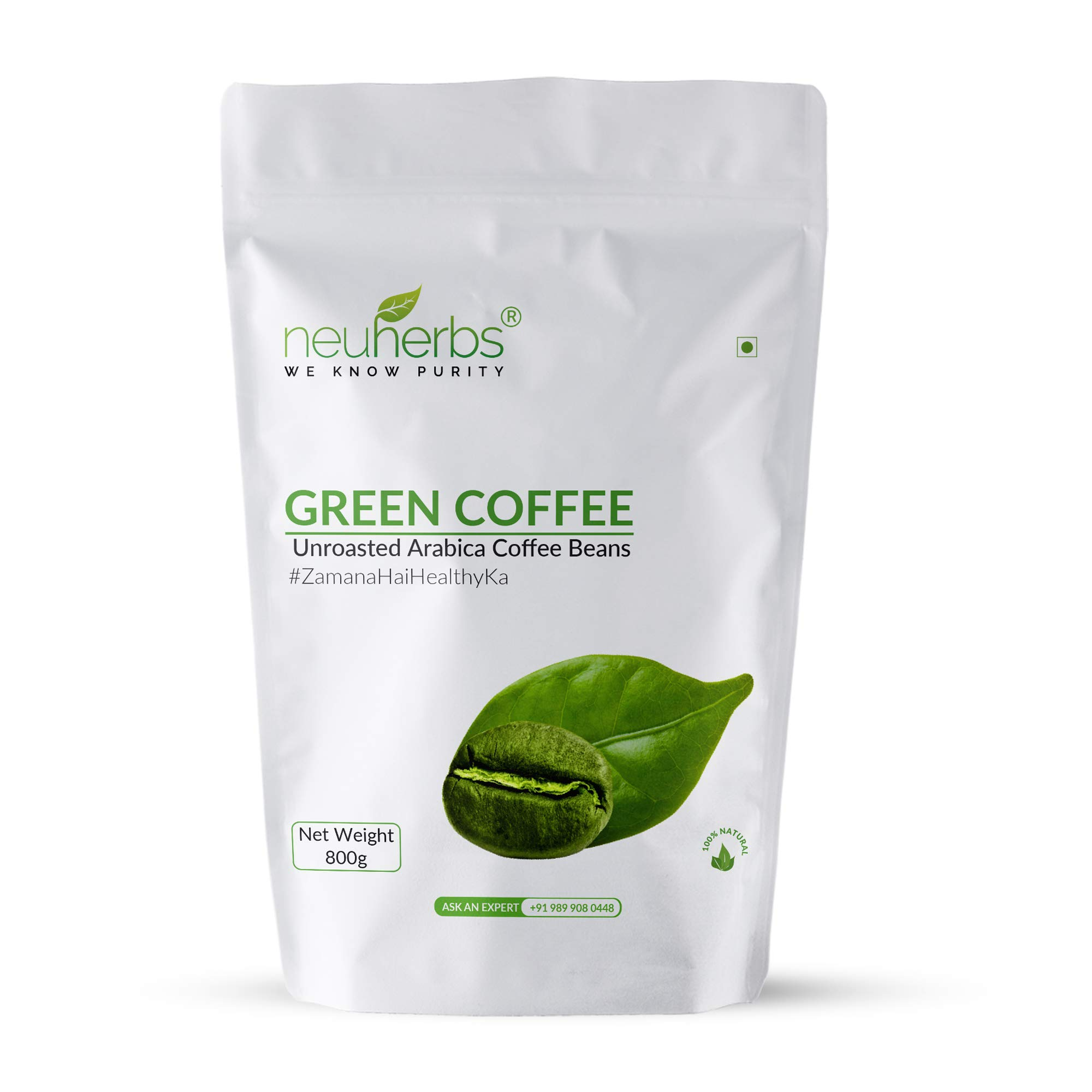 Neuherbs Green Coffee Beans For Immunity Booster And Weight Loss Partner 800 G Buy Online In Gambia Neuherbs