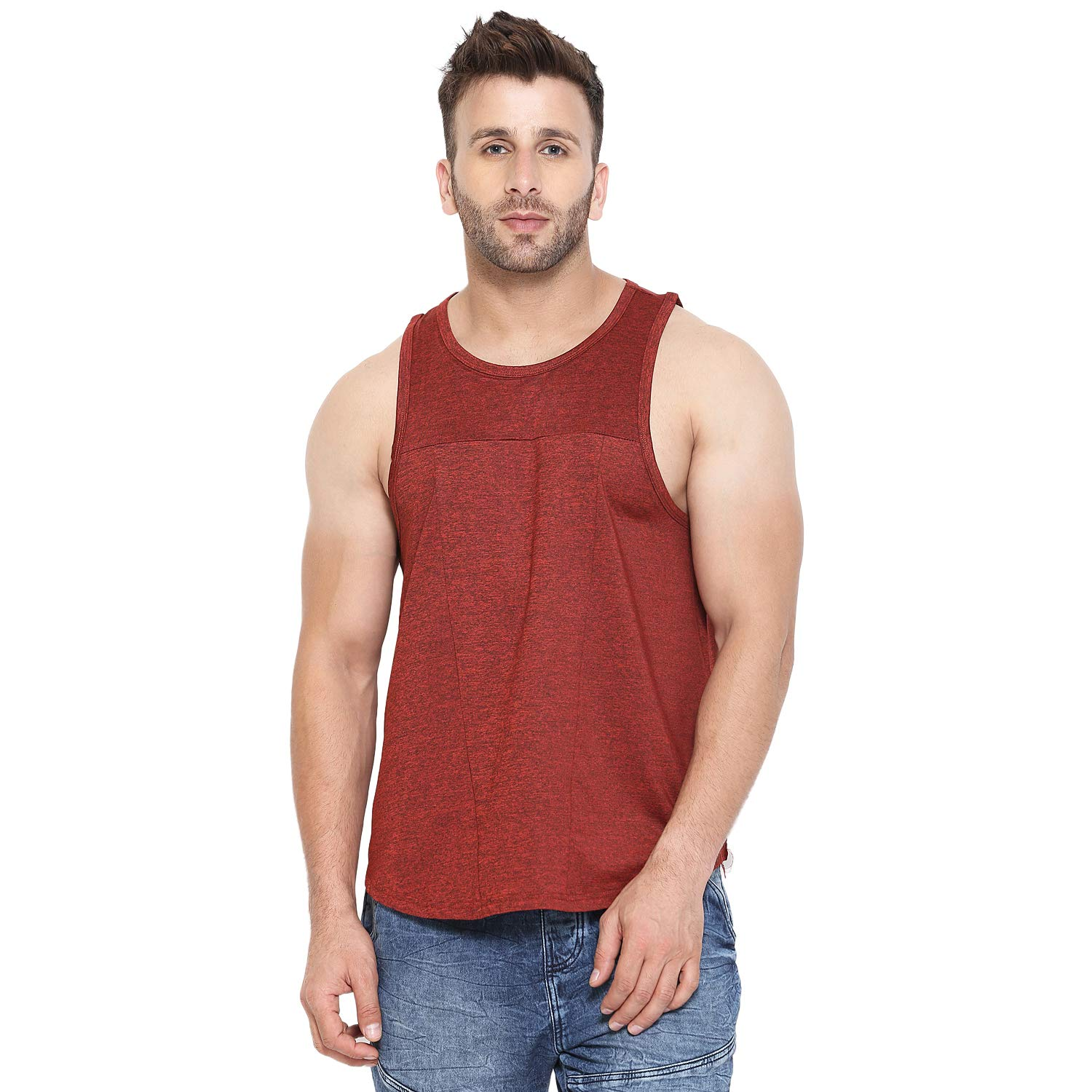 CHKOKKO Men Gym Tank Tops Sports Sleeveless Vest