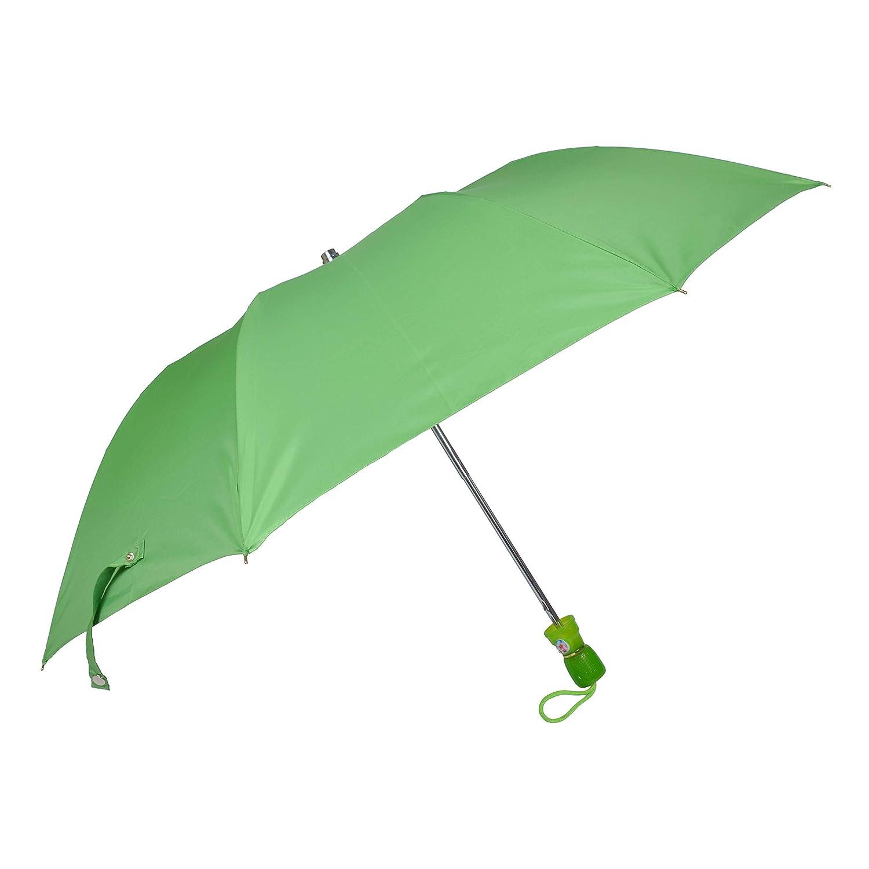 "Fendo Yardley 2 Fold Auto Open 21"" (532 mm) Men/Women UV Protection Monsoon/Rainy & Sun Umbrella in Green"