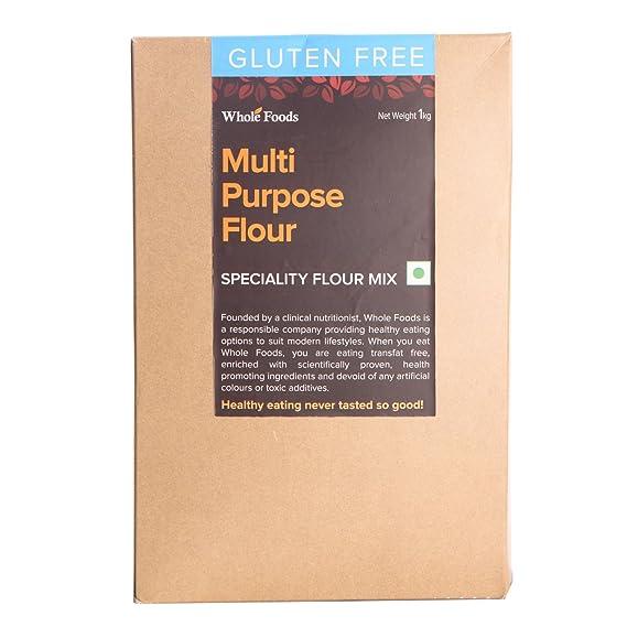 Whole Foods Flour - Multi Purpose Flour Mix, 1Kg Box