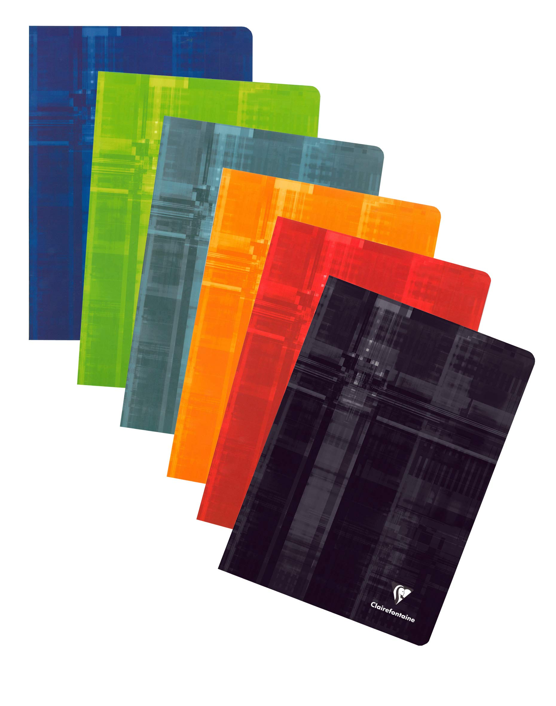 Clairefontaine Classic Staple-Bound Notebooks Ruled with Margin 8 1/4 in. x 11 3/4 in. 40 Sheets
