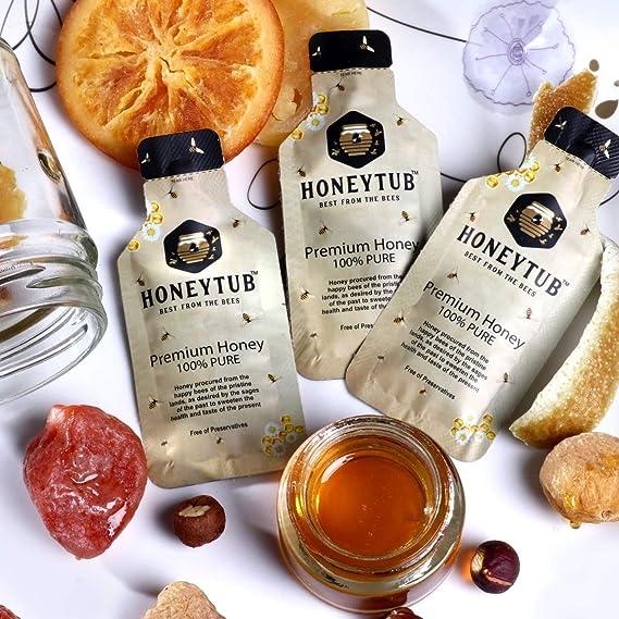 Honeytub Pure Organic Sachet (10 Sachets Each Box) (Pack of 3)