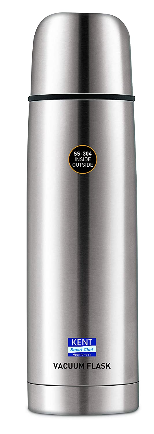 Kent Stainless Steel Vacuum Flask, 1 Litre, Silver
