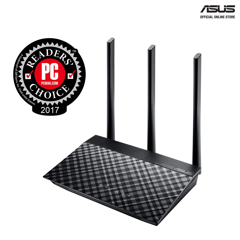 ASUS RT-AC53 AC750 Dual Band Gigabit WiFi Router