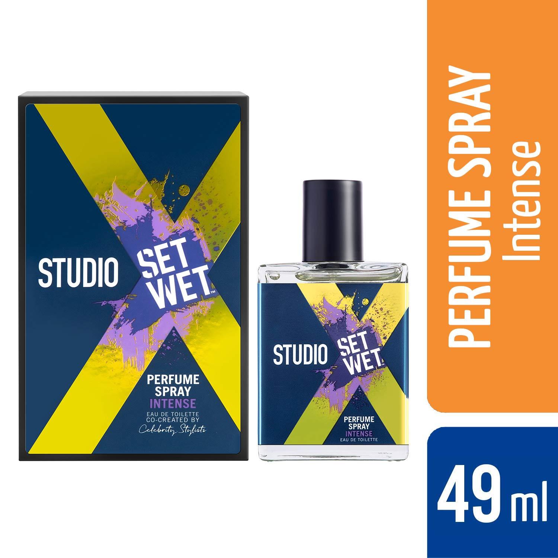 Set Wet Studio X Perfume Spray For Men, Intense, 49 ml