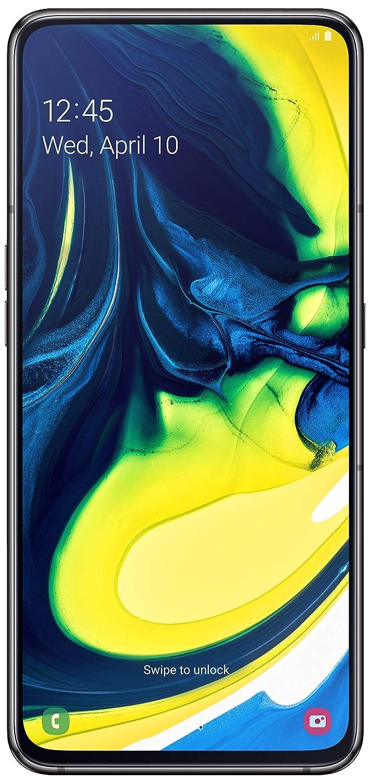 Samsung Galaxy A80 (Phantom Black, 8GB RAM, 128GB Storage) Without Offer