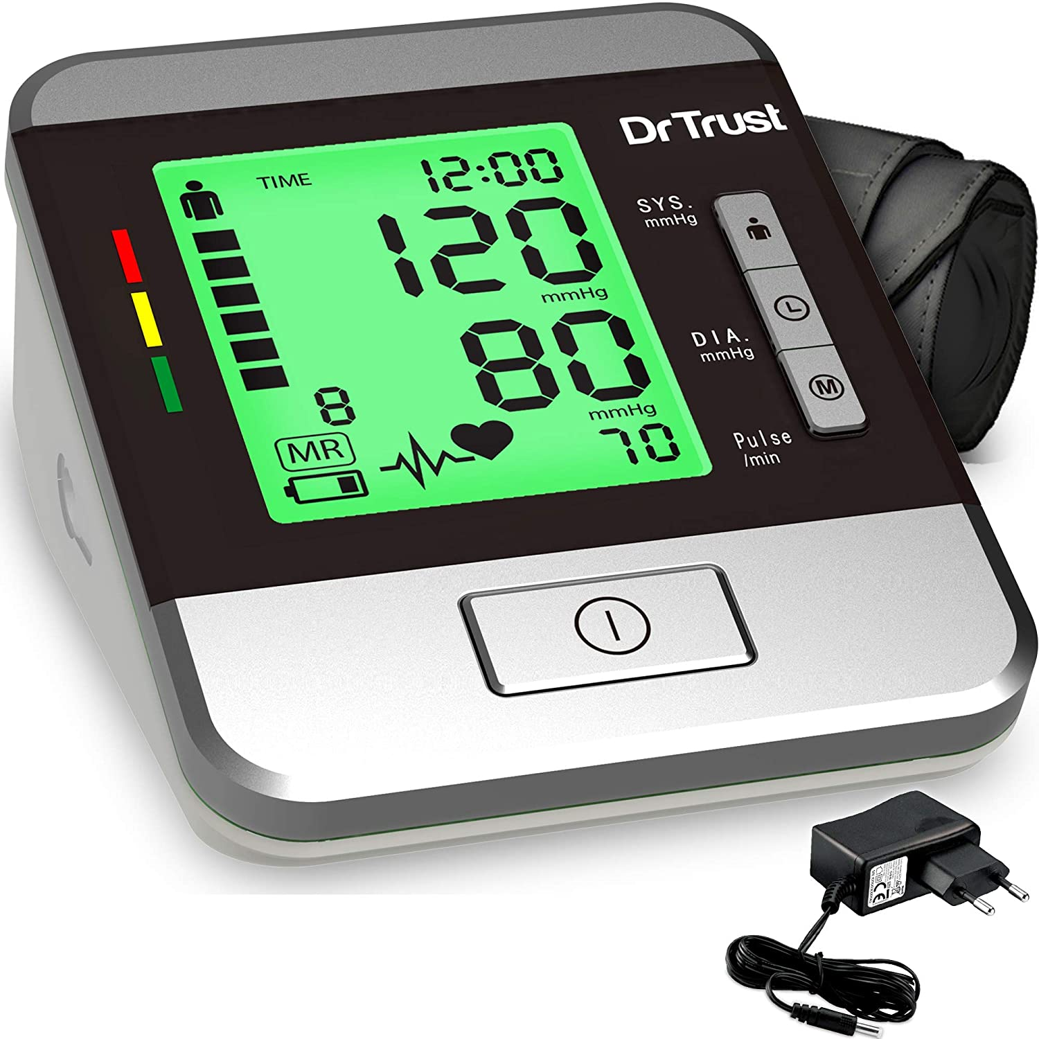 Dr. Trust Automatic Digital BP Monitor Machine with MDI technology