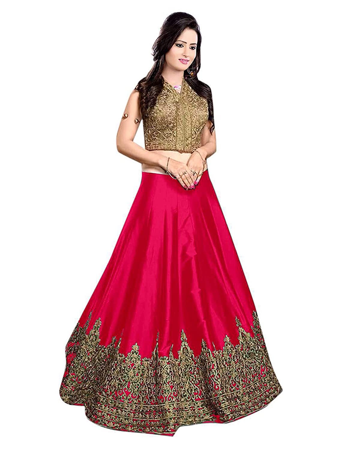 pop mantra lengha Choli up to 81% off + Extra coupon @ Amazon