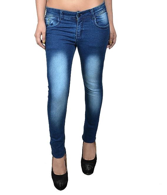 fourgee Women's Slim Fit Jeans Western Wear