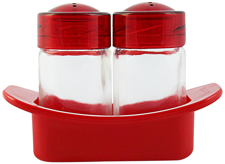 Herevin Venezia Salt Shaker, Set of 2, Red