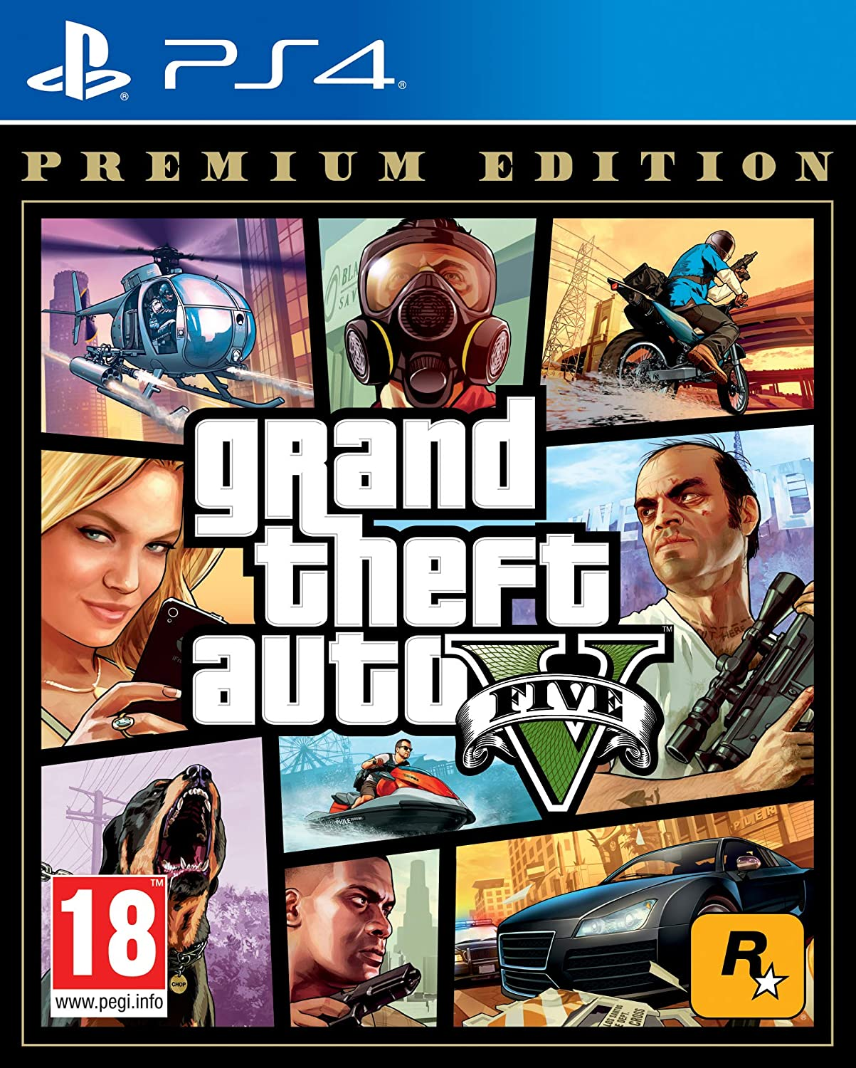 GRAND THEFT AUTO V- best selling ps4 games