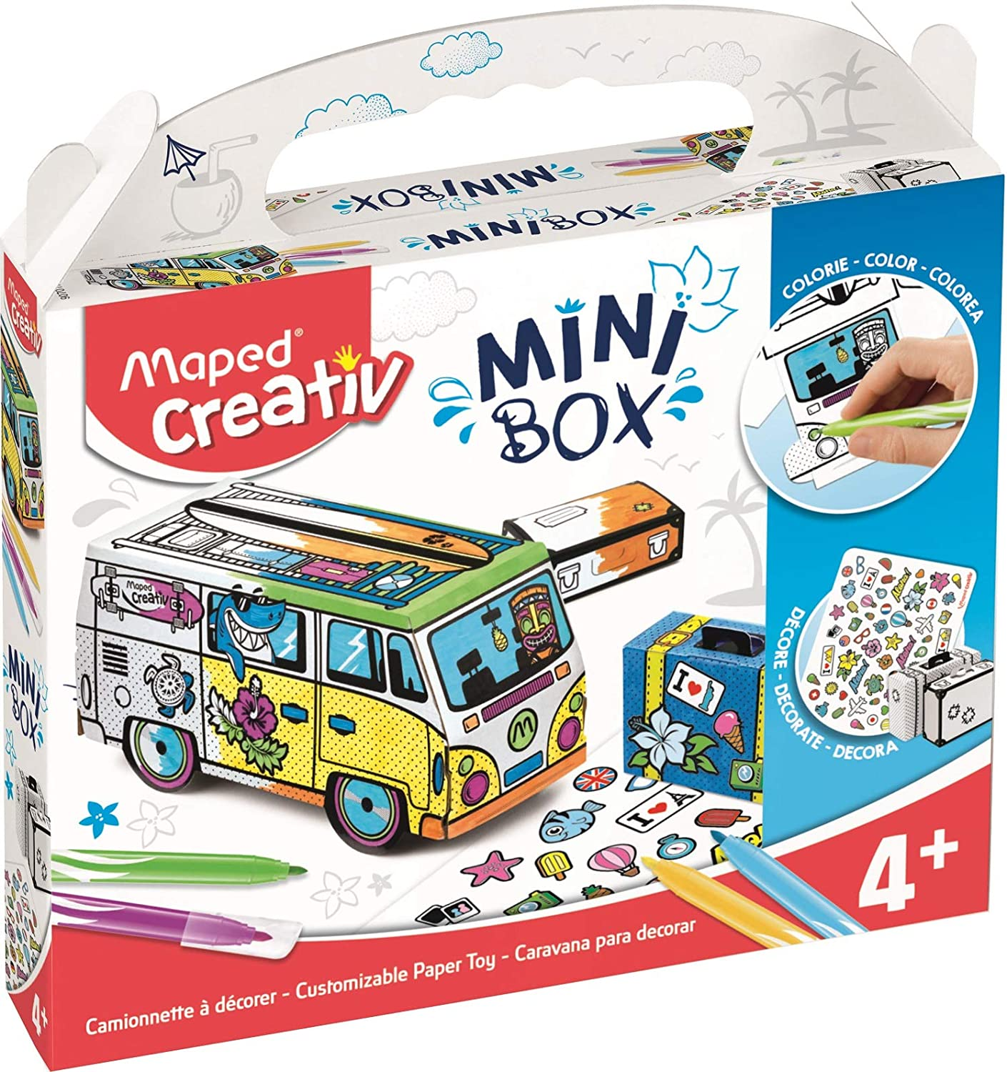 Maped Creativ Customizable Paper Toy