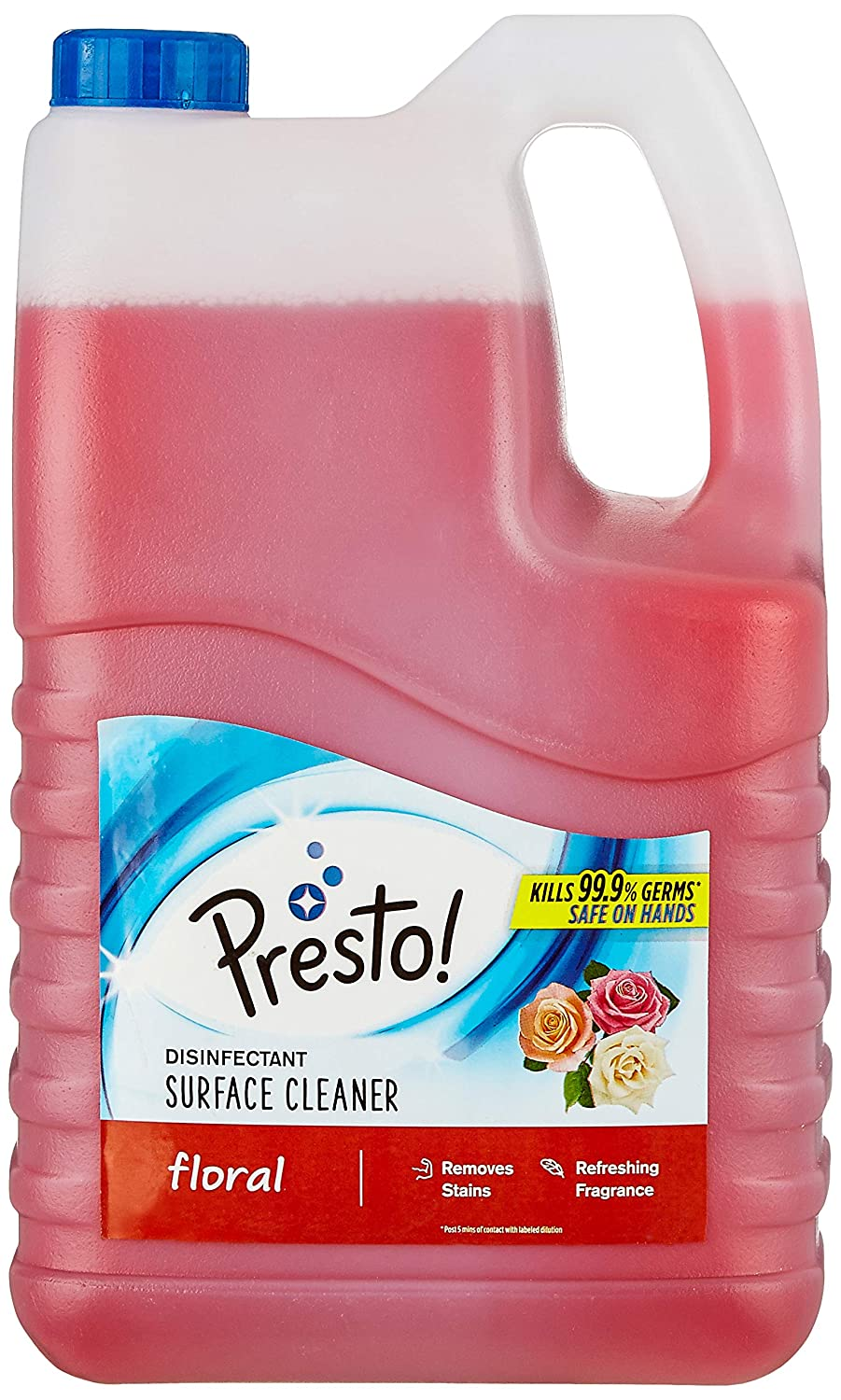 [Pantry] Amazon Brand - Presto! Disinfectant Surface Cleaner - 5 L (Floral)
