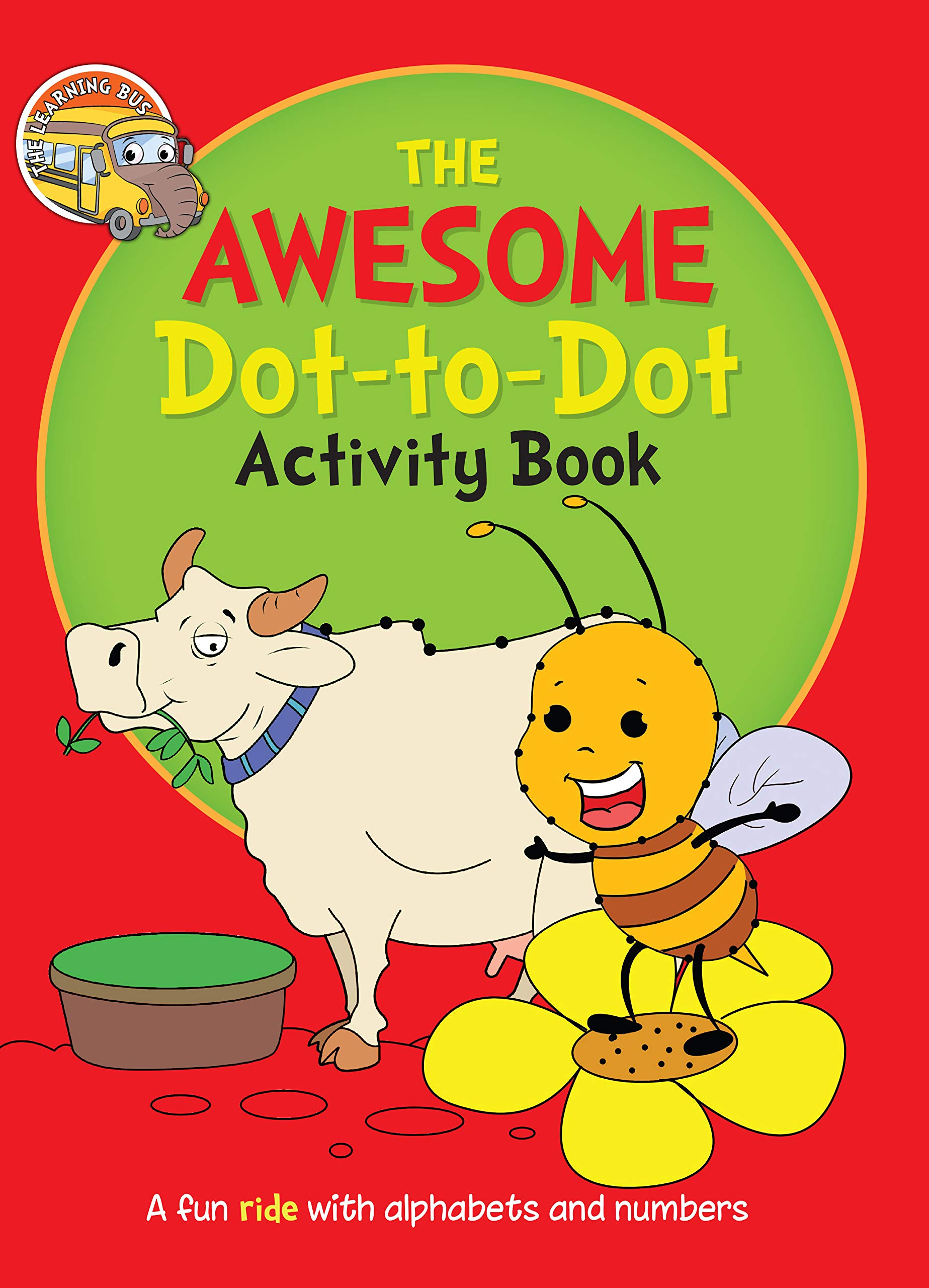 Activity Book: The Awesome Dot-to-Dot Activity Book for Children ( A-Z, a-z)