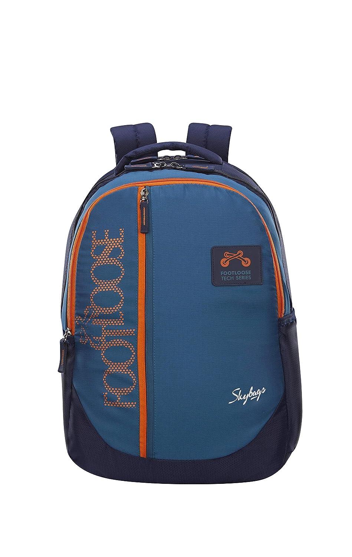Skybags Virgil 21 cms Teal Laptop Backpack