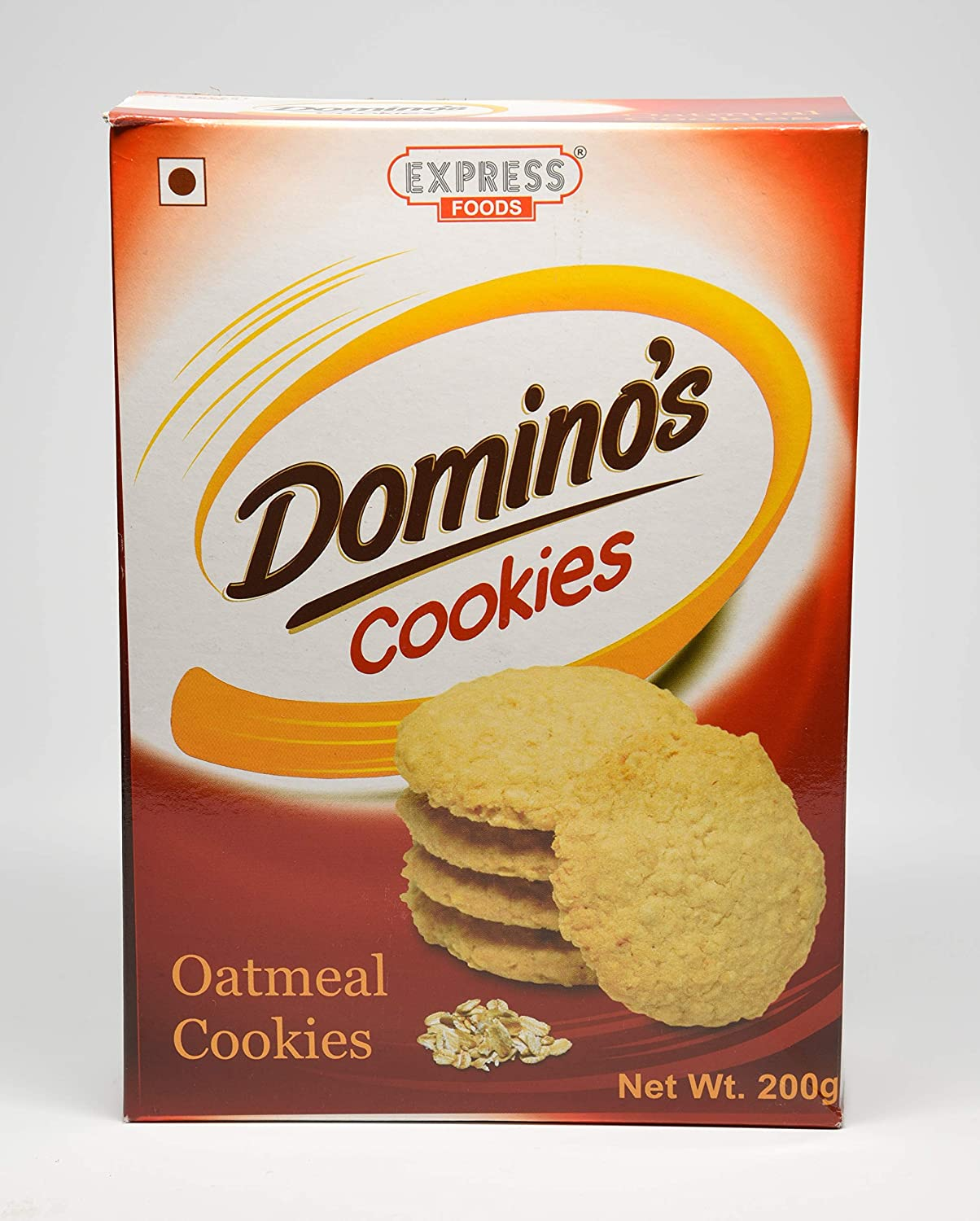 Express Foods Oatmeal Dominos Cookies, 200G