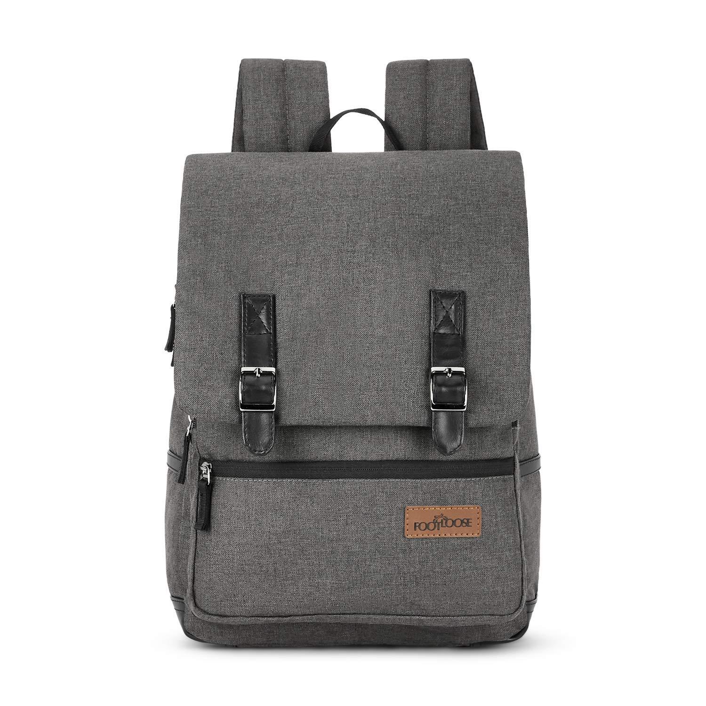 Footloose by Skybags UNISEX 23 Ltrs Dark Grey Casual Backpack (Yoko)