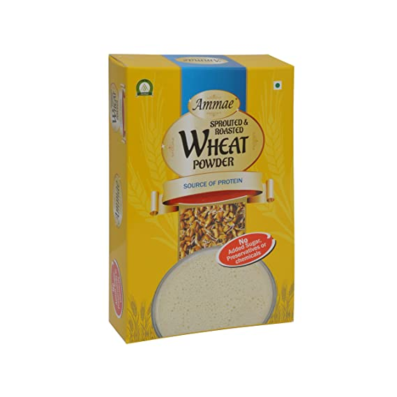 Ammae Sprouted Wheat Powder, 125g (Pack Of 2)