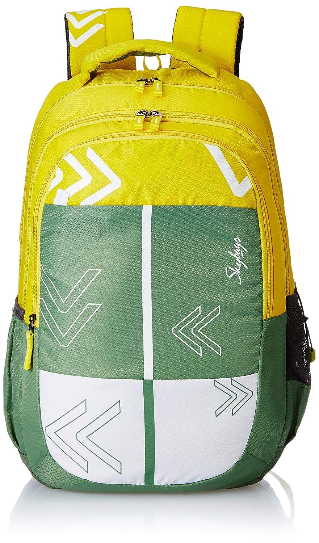 Skybags Bingo Plus 04 48 cms Green Casual Backpack (Bingo Plus 04)