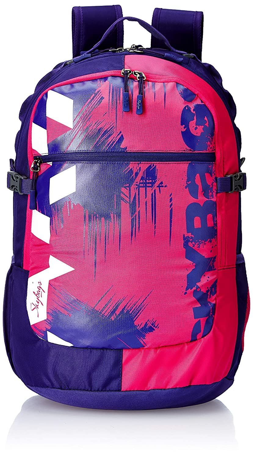 Skybags Crew 06 33 Ltrs Purple Laptop Backpack (Crew 06)