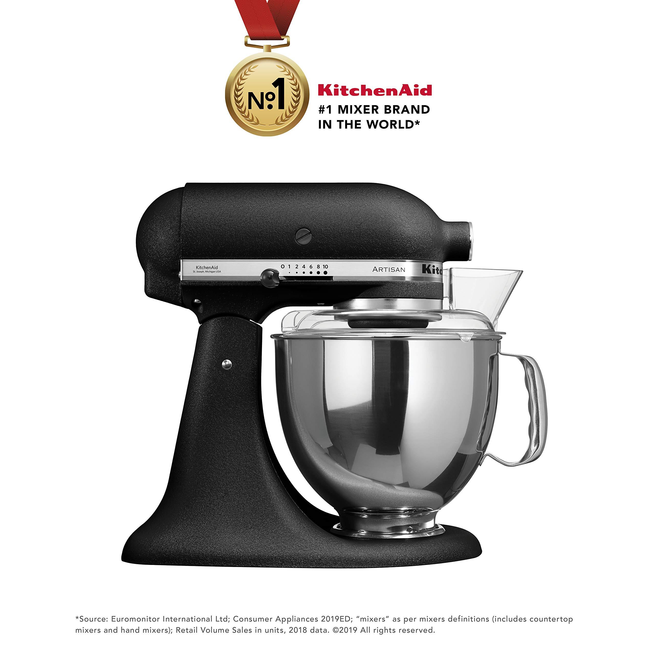 Kitchenaid Artisan Series 5ksm150psbbk 300 Watt Tilt Head Stand Mixer 4 8 Litre Imperial Black Buy Online In Dominica At Dominica Desertcart Com Productid 77044029