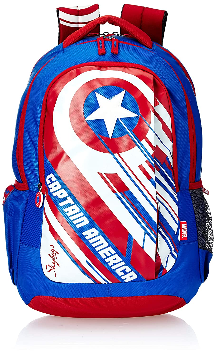 Skybags Marvel Champ 10 18 cms Blue Casual Backpack (MARVEL CHAMP 10)