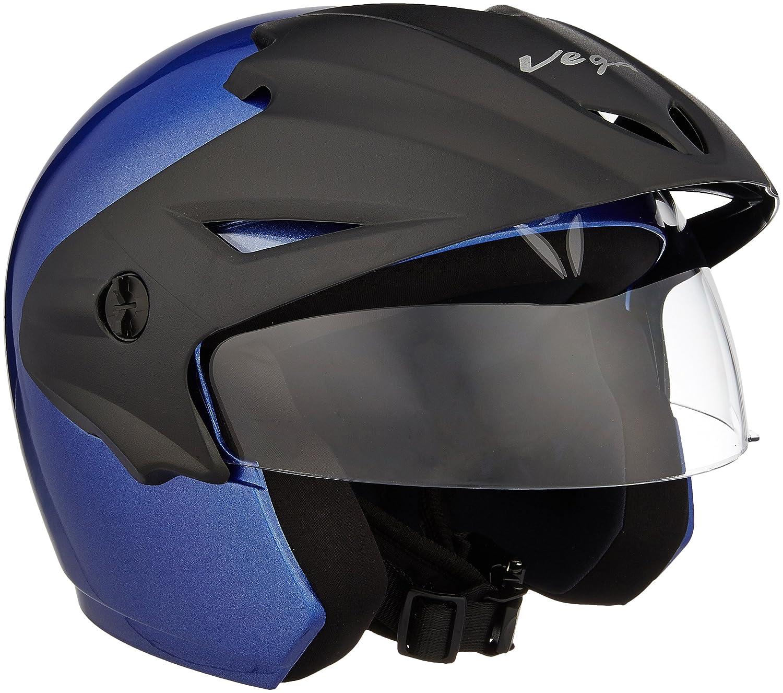 Vega Cruiser CR-W/P-MB-L Open Face Helmet (Metallic, L)