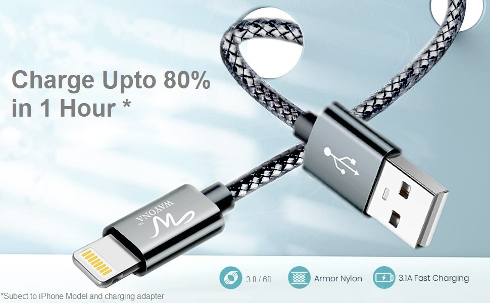 Fast charge iphone cable ipad charger ipad USB cable for Apple iphone x