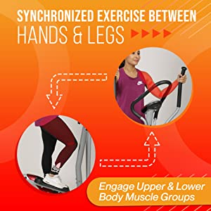 synchronized hands legs exercise