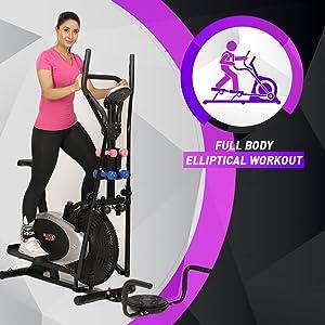 full body workout elliptical fitness bike