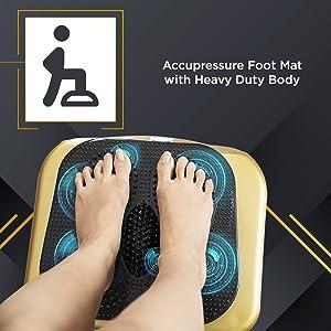 accupressure foot mat