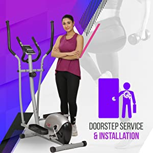 exercise cycle installation doorstep service