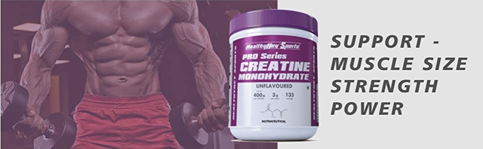 Support Muscle size strength power